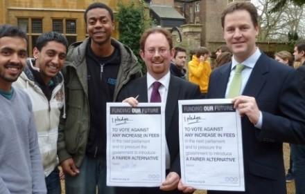LibDem MPs NUS pledge
